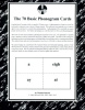 70 Basic Phonogram Cards (Revised and Perforated)